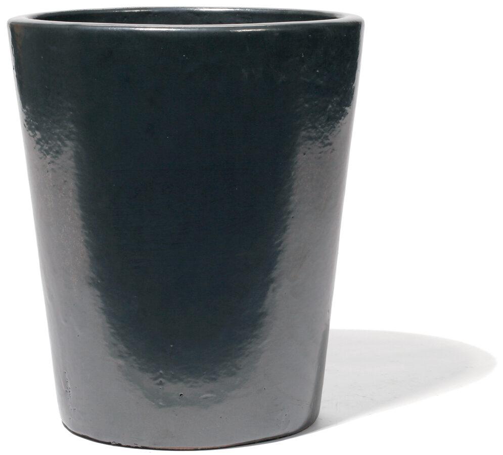 Vaso Graphit klasisks keramikas puķu pods - D40H47