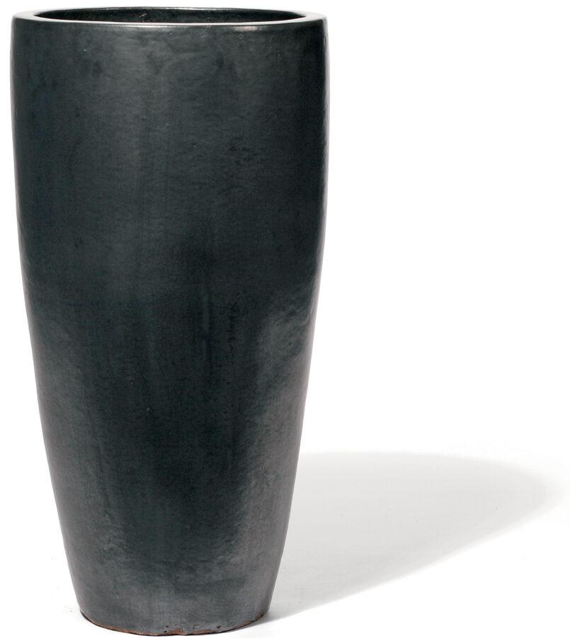 Vaso Graphit augstais keramikas puķu pods - izmērs M D36H69