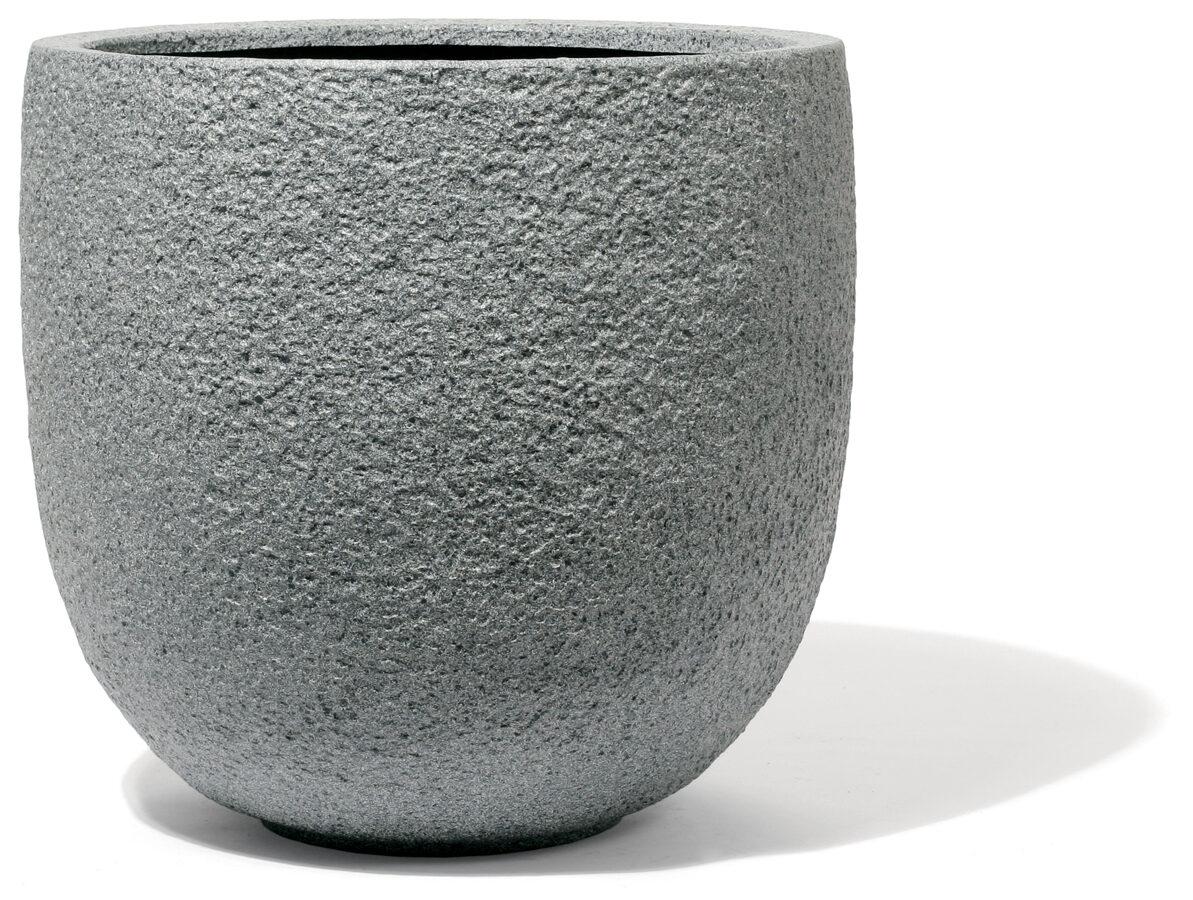 Rock Graphit klasisks apaļš puķu pods - izmērs L d:57cm h:53cm