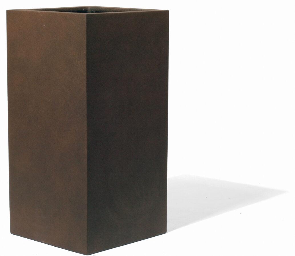 Majestic Rust kantains augstais puķu pods - izmērs XL D45x45H95