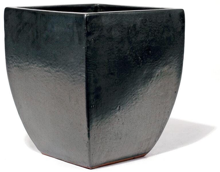 Vaso Graphit kantainas formas keramikas puķu pods - izmērs M D38x38H45